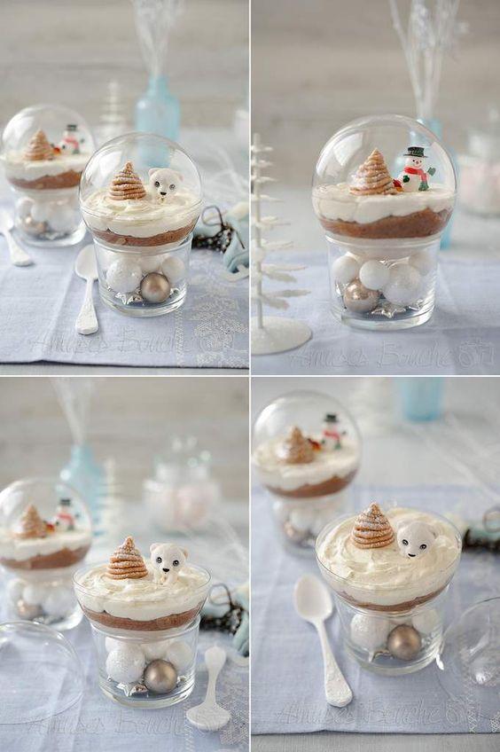 Gâteau Mont-Blanc - Amuses bouche