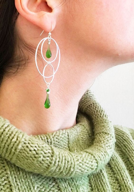 Orbital Motion Earrings: Pre-order