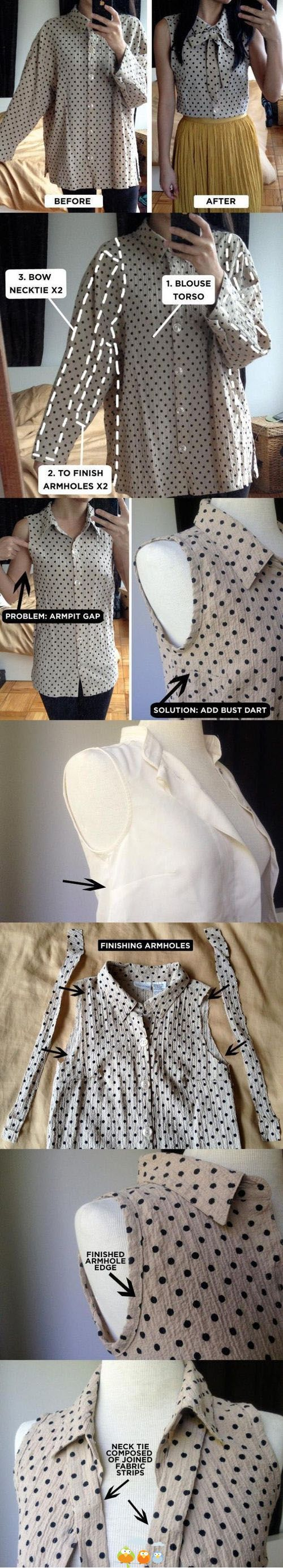 Blouse Tranformation: