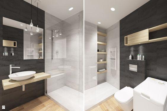 Azienka 5m2 zdj cie od houselab azienka styl for 5m2 bathroom design