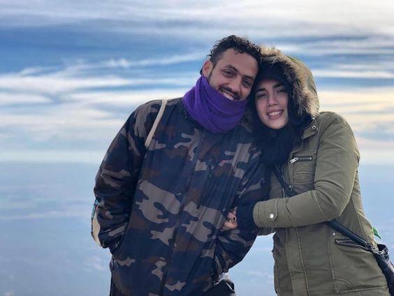 Roque y Martina, el tránsito de mamá y papá