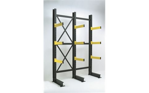 Buy Heavy Duty Double Cantilever Racking Systems & Kits Online - Storage Construction