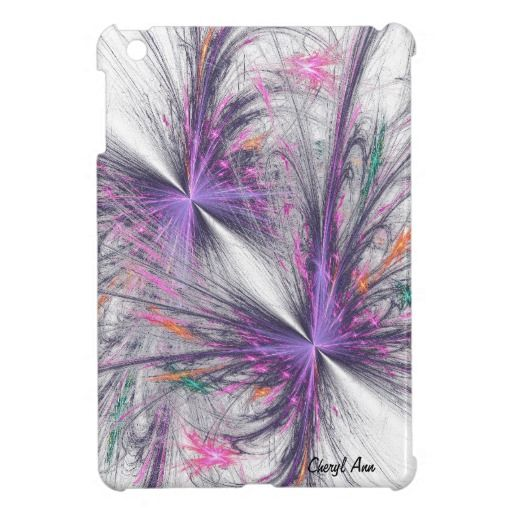 Fractal Butterfly | Elegant Butterfly Fractal Personal Mini iPad Case Cover For The iPad ...