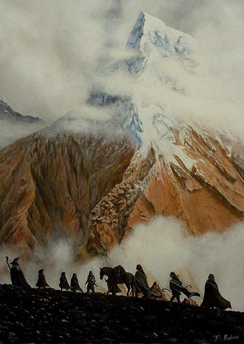 Beautiful LOTR art