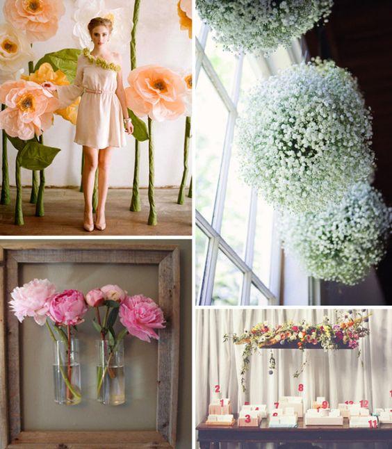 Divers fleurs: