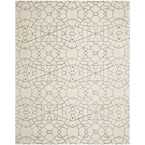 Thom Filicia Handmade Cream/ Brown New Zealand Wool Rug (5' x 8') | Overstock.com Shopping - Great Deals on Safavieh 5x8 - 6x9 Rugs