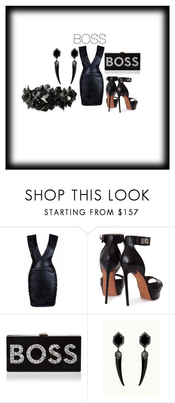"""""""Boss"""" by dimeond711 ❤ liked on Polyvore featuring Givenchy, Milly and Valentino"""