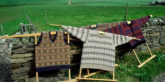 Faire isle sweaters from the shetland isles eye candy pinterest