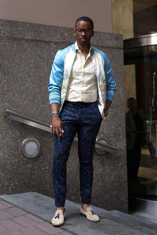 Street Fashion New York Fashion Week Men S Wiosna Lato 2018 Mens Street Style Spring Mens Street Style Best Men S Street Style