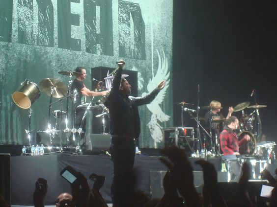 Saw Hollywood Undead twice in 2011, amazing, my pic