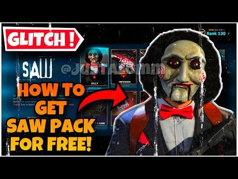 Glitch How To Get The Saw Bundle For Free On Call Of Duty Modern Warfare Warzone Saw Pack F Call Of Duty Modern Warfare Warzone Modern Warfare Call Of Duty