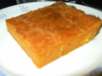 le mesturet (gateau de citrouille)