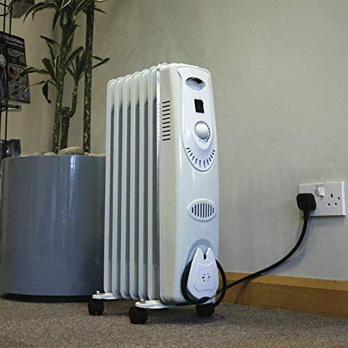 Sealey Rd1500 Oil Filled Radiator 1500w 230v 7 Element Oil Filled Radiator Radiators Appliances Direct