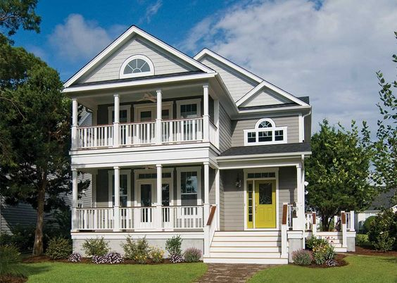 Dream house plans house plans and dream houses on pinterest for Charleston house plans narrow lots