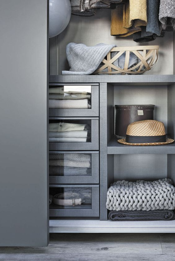 Armoire de chambre contemporaine en bois laqu porte coulissante sur - Armoire de chambre porte coulissante ...