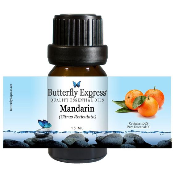 Mandarin essential oil is a gentle and supportive healer. It is a good choice for very young children and for the old and frail. Mandarin essential oil is also good for digestion where it aids with such conditions as constipation and diarrhea.   100 Pure