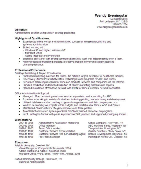 Desktop Support Technician Resume Sample     Best Format     ResumeBaking