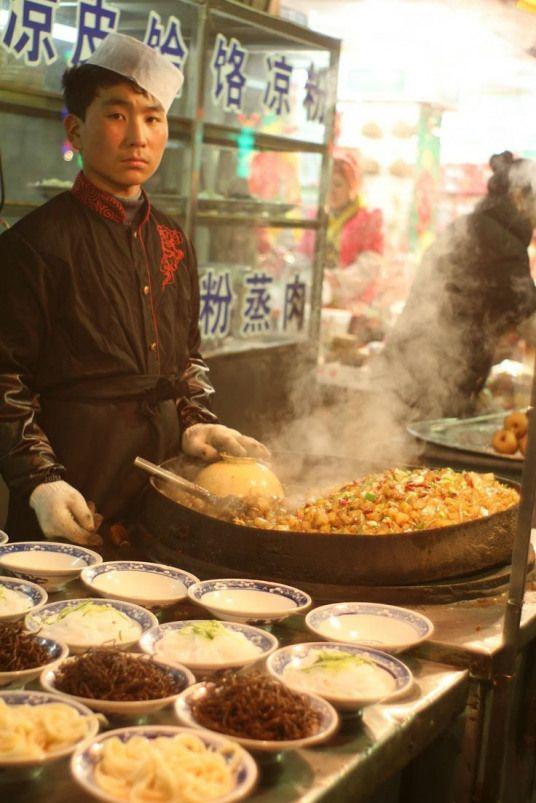 Idea By Teddy Rerkmuang On Food Chinese Street Food Food Street Food Market