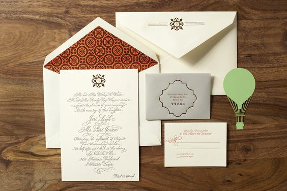 The Beauty of Letterpress: Jeri and Gert's Save the Date and Invitation Suite  https://thebeautyofletterpress.com