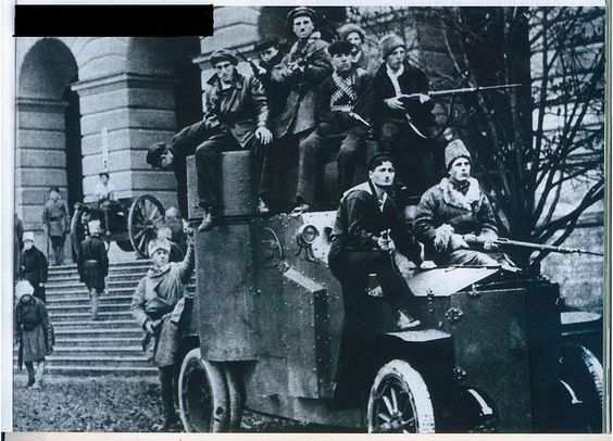 The Russian Revolution 1917 - 1918 Summary of Events.