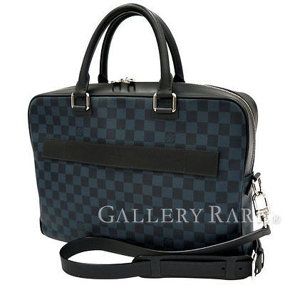 Auth-Louis-Vuitton-Damier-Cobalt-Business-Bag-2way-Shoulder-N41347-GR-1822670