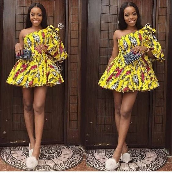 2019 Simple and Beautiful Ankara Short Gown Styles