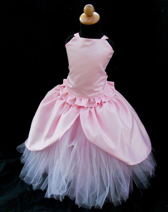 Toddler Girls Pink Princess Dress 12mos - 3T  Pink Princesses ...