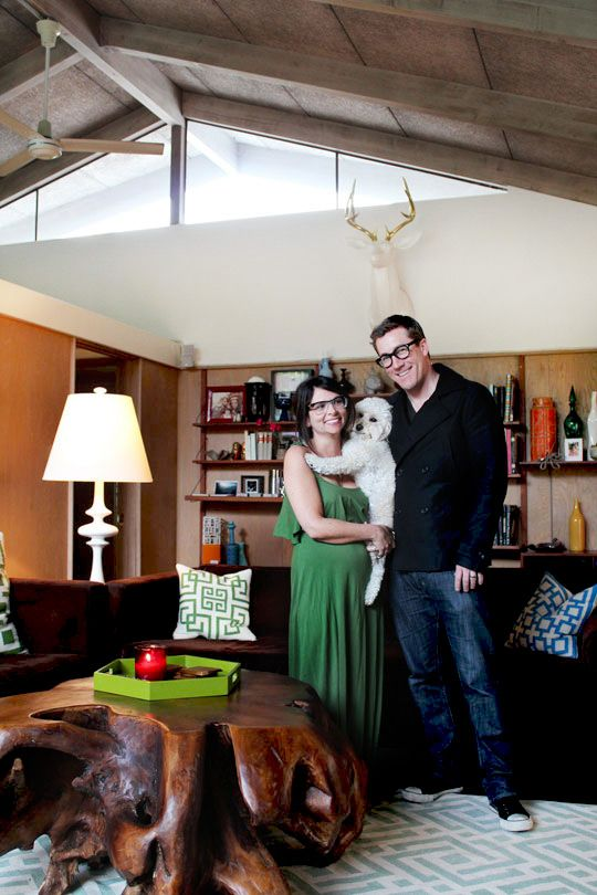 Ricki & Chad's Classic Cliff May Home House Tour