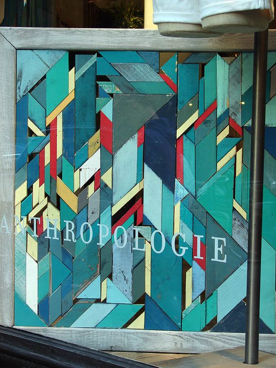 Anthropologie windows 2011 Summer, New York » Retail Design Blog