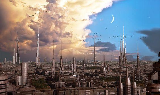 Iron city by Jean-François Liesenborghs | Sci-Fi | 2D | CGSociety