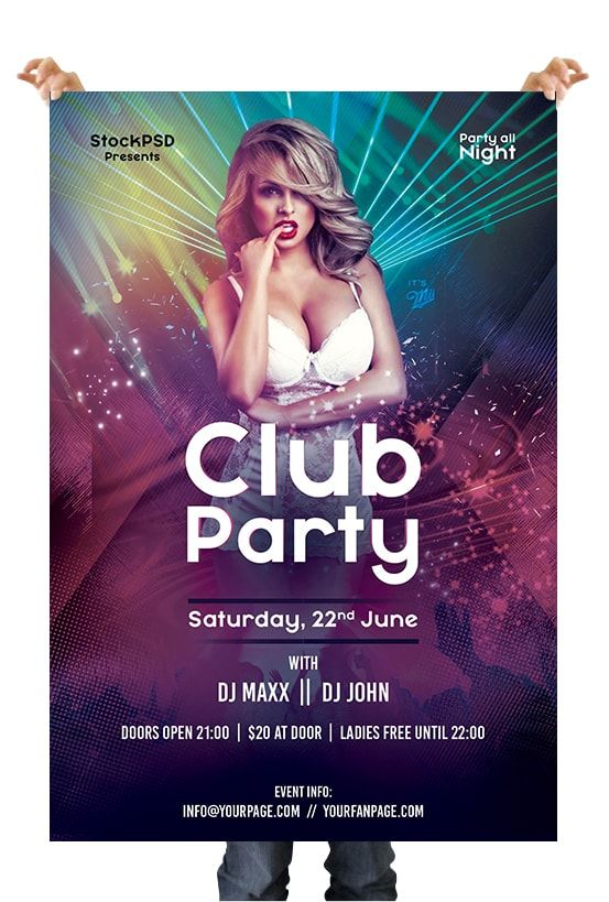 Club Party Event Free Psd Flyer Template Event Flyer Templates Free Psd Flyer Templates Free Psd Flyer