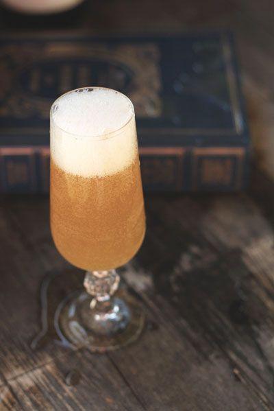 autumn cider mimosa.