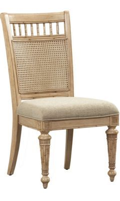 Dining Rooms, Pelican Bay Woven Cane Side Chair, Dining ...