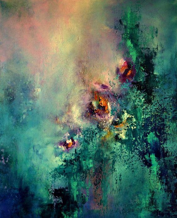 """Meraki"" Acrylic on canvas, 50x40 cm"