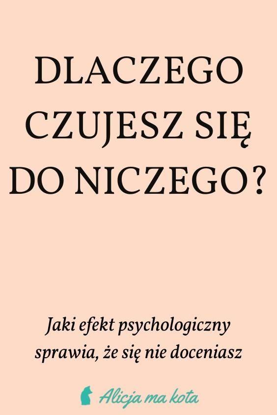 Jestem Beznadziejna Dlaczego Tak Jest I Jak Psychologia Moze Ci Pomoc Video Video In 2021 Psychology