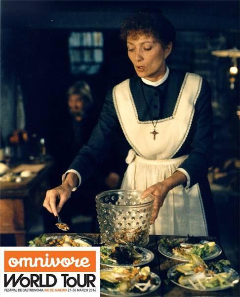 A Festa de Babette: O filme escolhido para o final de semana foi Babette, que se passa na Dinamarca e habita o imaginário de muitos chefs de cozinha.  Que tal conferir a história e testar algumas das receitas feitas pela personagem principal? http://www.omnivorerio.com/canal/?noticias%2F8615%2Fa+festa+de+babette