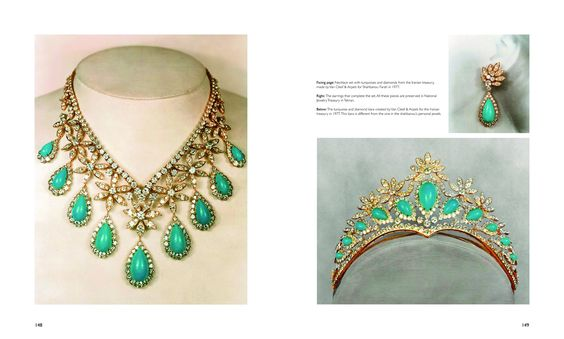 Turquoise Tiara - Crown of Iran