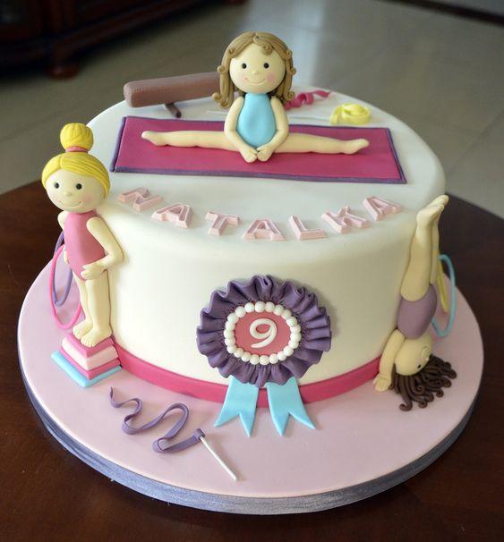 gymnastics cakes pinterest girls kuchen und galerien. Black Bedroom Furniture Sets. Home Design Ideas