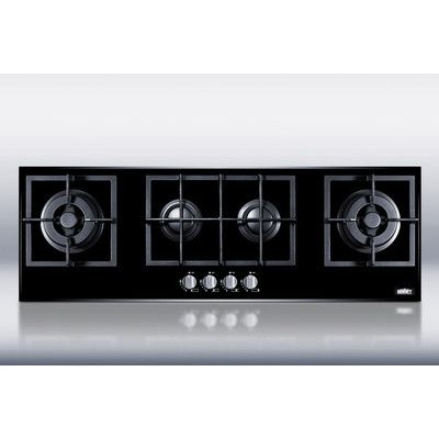 """LOVE THIS. DEFINITELY WANT IT IN OUR ISLAND! Summit Appliance 43.38"""" Gas Cooktop with 4 Burners"""