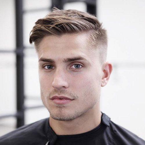 25 Cute Hairstyles For Guys 2019 Hairstyles 2019 Thin Hair Men Mens Haircuts Short Popular Mens Haircuts