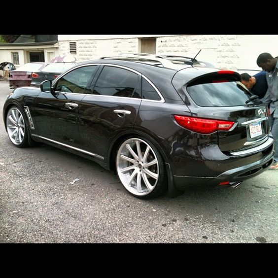 Infiniti Fx For Sale: Infinity On 24s