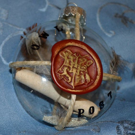 Harry Potter Ornaments, Harry Potter And Ornaments On