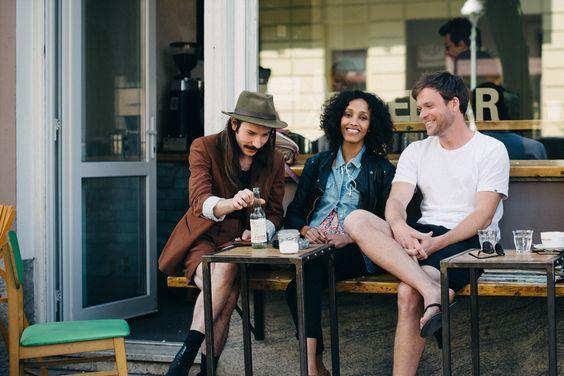 Kaffeebar jenseits des Kanals, Berlin