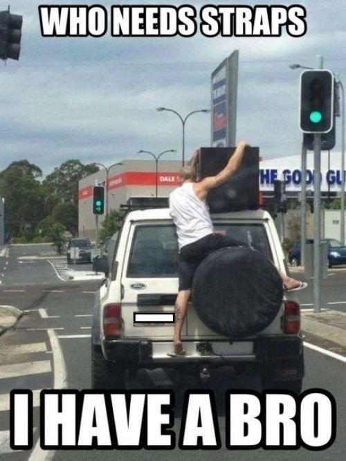 Who needs straps?