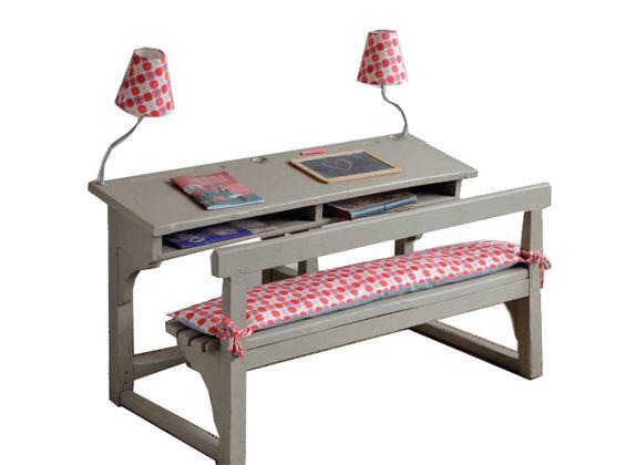 Decoration Peinture Petite Table Ecolier