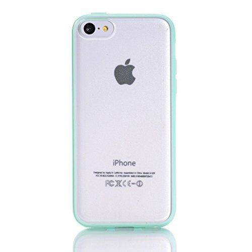 High Quality Frosted Colorful Soft Silicone TPU Border Transparent Plastic Case Cover For iPhone 5 5C - Mint Green , http://www.amazon.co.uk/dp/B00MIK96LY/ref=cm_sw_r_pi_dp_B9Vdwb036RQT3