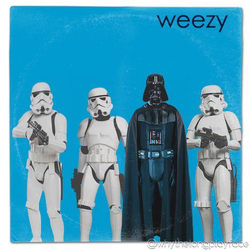 Weezer The Blue Album Giclee Canvas Album Cover Art Picture