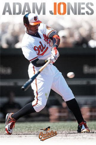 Adam Jones Baltimore Orioles Prints at AllPosters.com