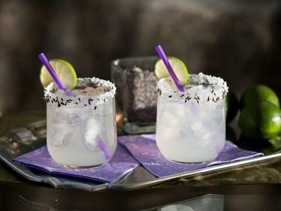 Lavender Margarita Recipe via @Cooking Channel