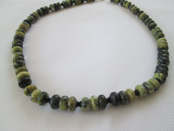 Serpentine Necklace by dreamdesigns on Etsy
